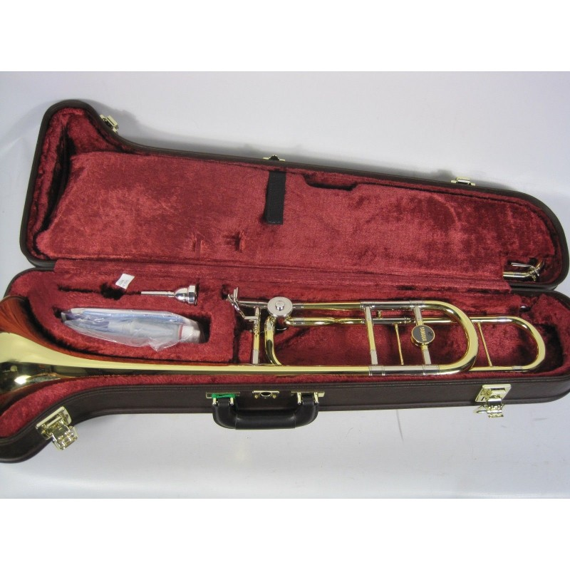 Yamaha xeno trombone ysl 882o with f attachment for Yamaha trombone case